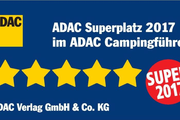 Der Camping Le Paradis vom ADAC zum «Superplatz 2017» erkoren