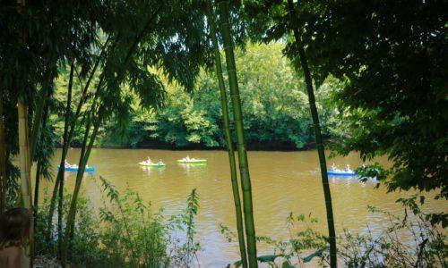 Camping Le Paradis - Emplacement Bord de rivière