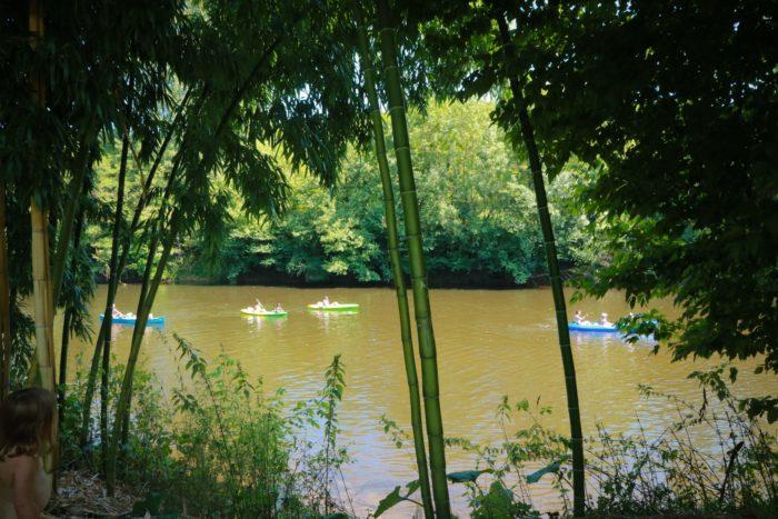 Stellplätze Flussufer